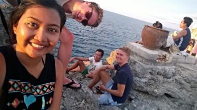 Myself, Matze, Basil and Eike